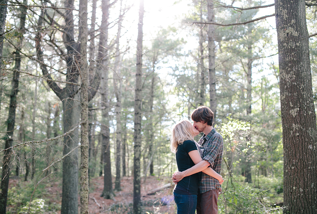 08_sweet_kiss_amongst_the_trees_beebe_woods_engagement_session_spring_cape_cod_photography