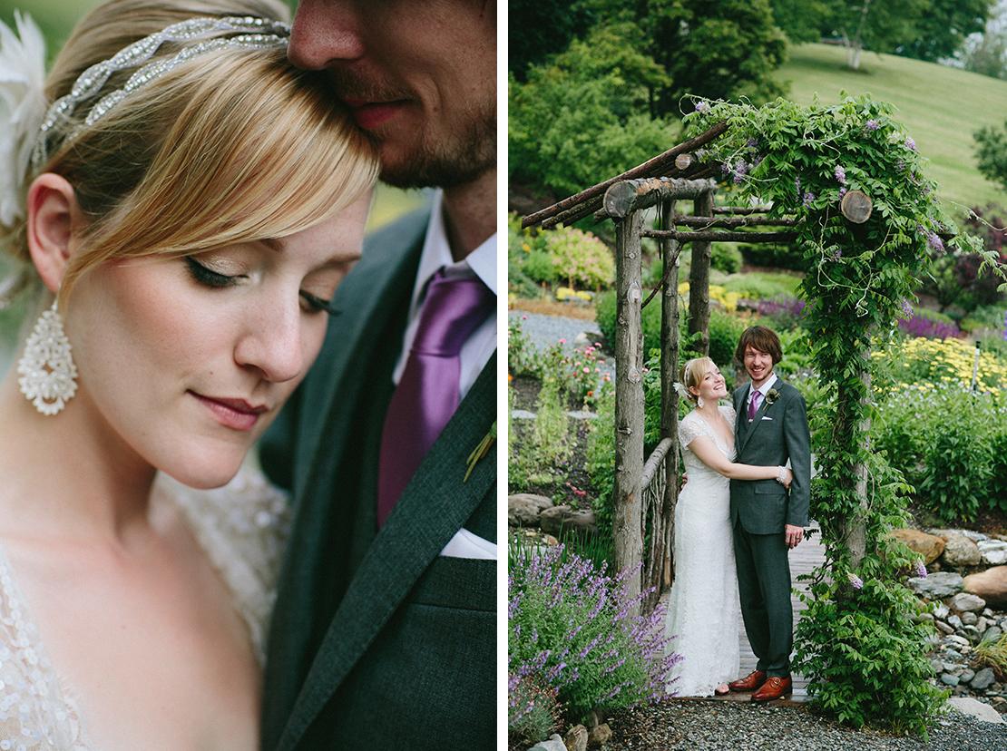 36_bride_groom_portraits_garden_Barn_at_lang_farm_essex_junction_vermont_wedding