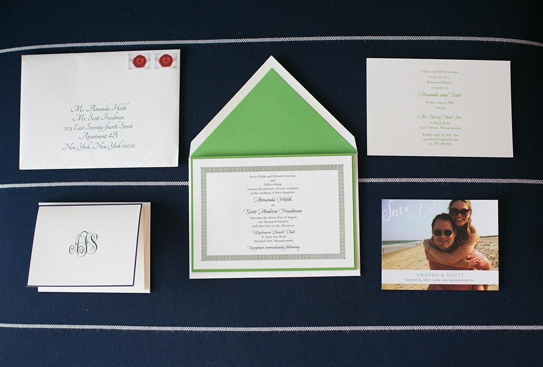 01_Wychmere_beach_club_wedding_invitations_green_navy