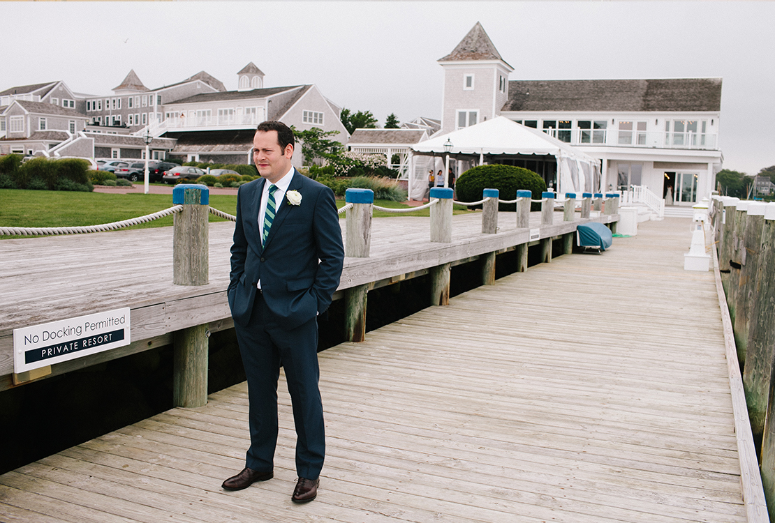 06_groom_waits_for_first_look_wychemere_beach_club_cape_cod_wedding
