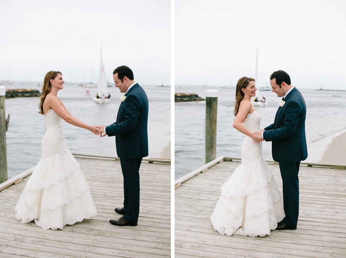 08_groom_first_sees_bride_first_look_wychemere_beach_club_wedding_dock