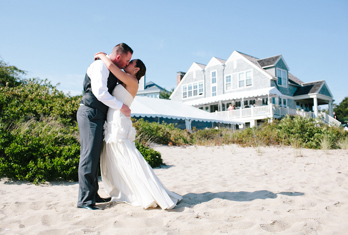 11_First_look_kiss_beach_house_Provincetown_Cape_Cod_wedding_photography