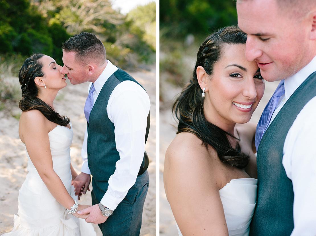12_sweet_kiss_bride_groom_Provincetown_Cape_Cod_wedding_photography