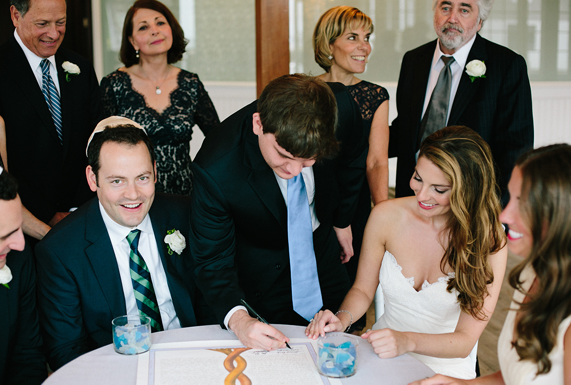 15_signing_the_ketubah_wychmere_beach_club_jewish_wedding