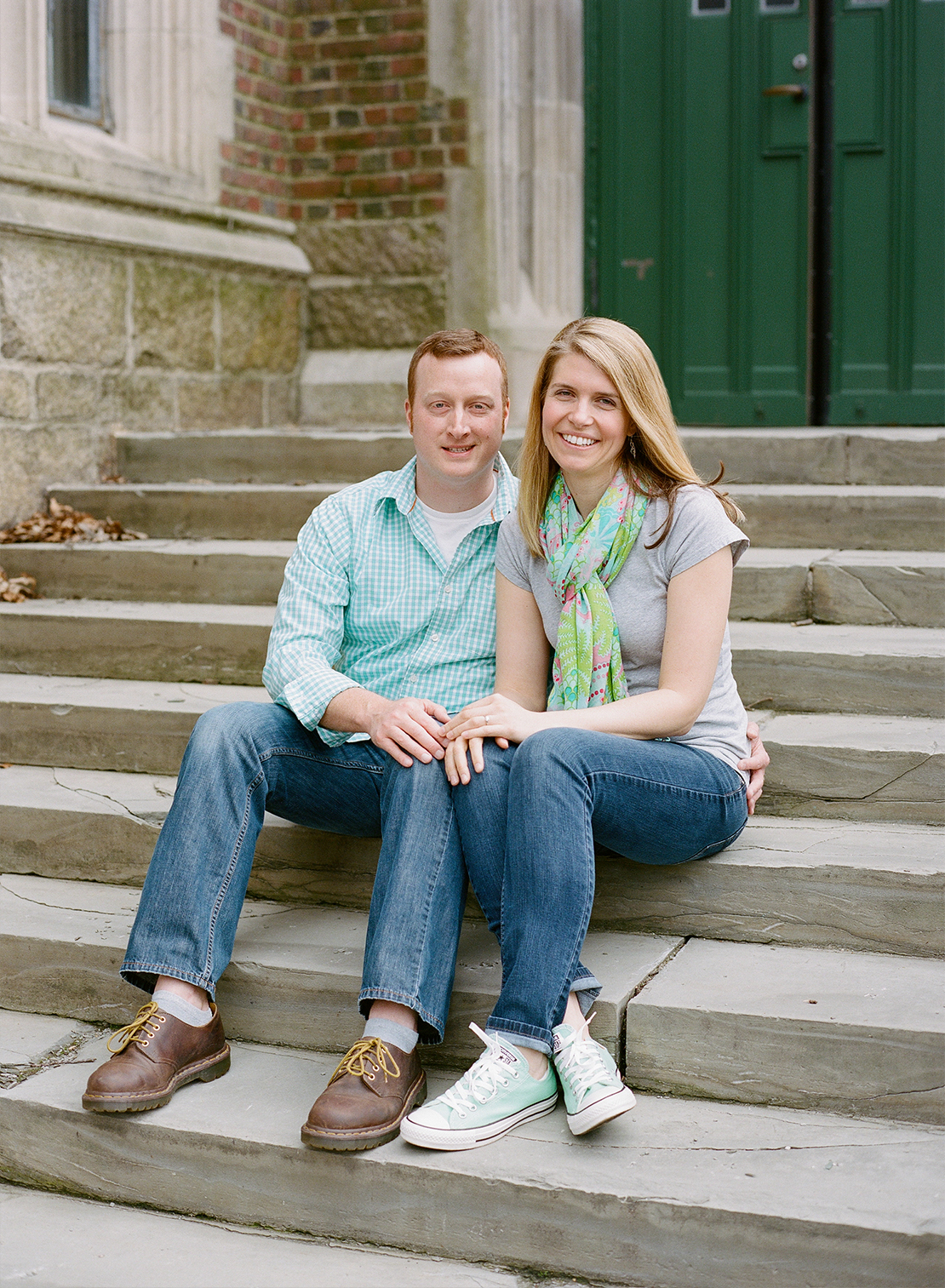 01_Wellesley-College_campus_engagement_session_film_photographer_heidi_vail