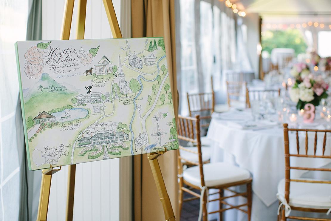 28_designsbyrobynlove_Hildene_manchester_Vermont_wedding_map