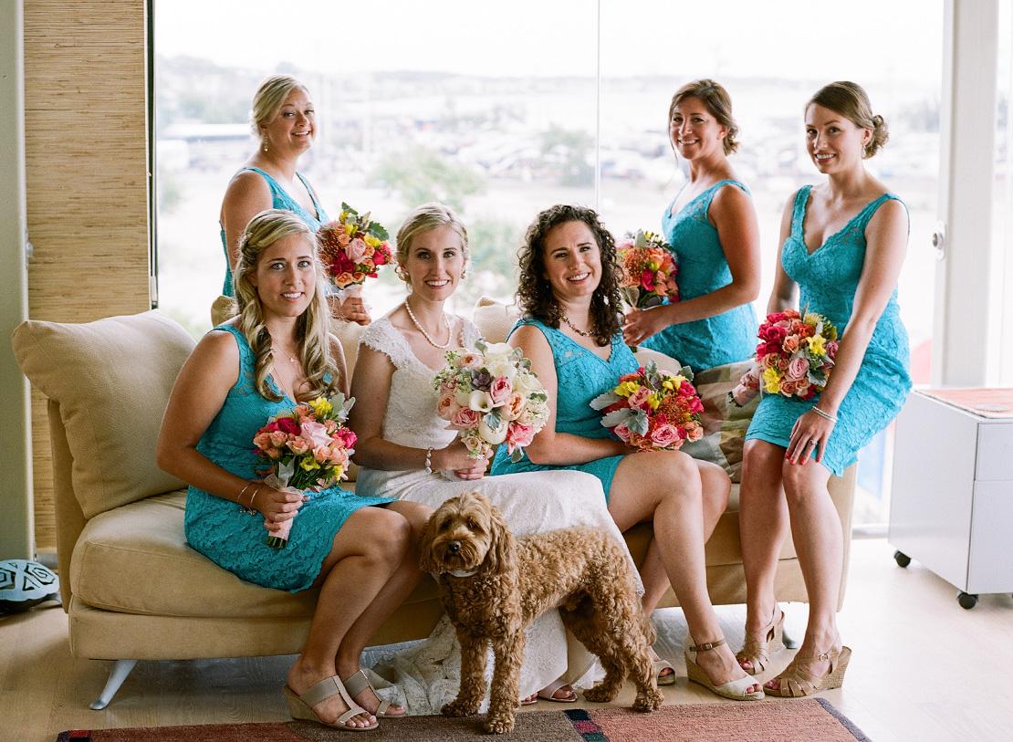 07_colorful_wedding_inspiration_bridesmaids_Ptown_wedding
