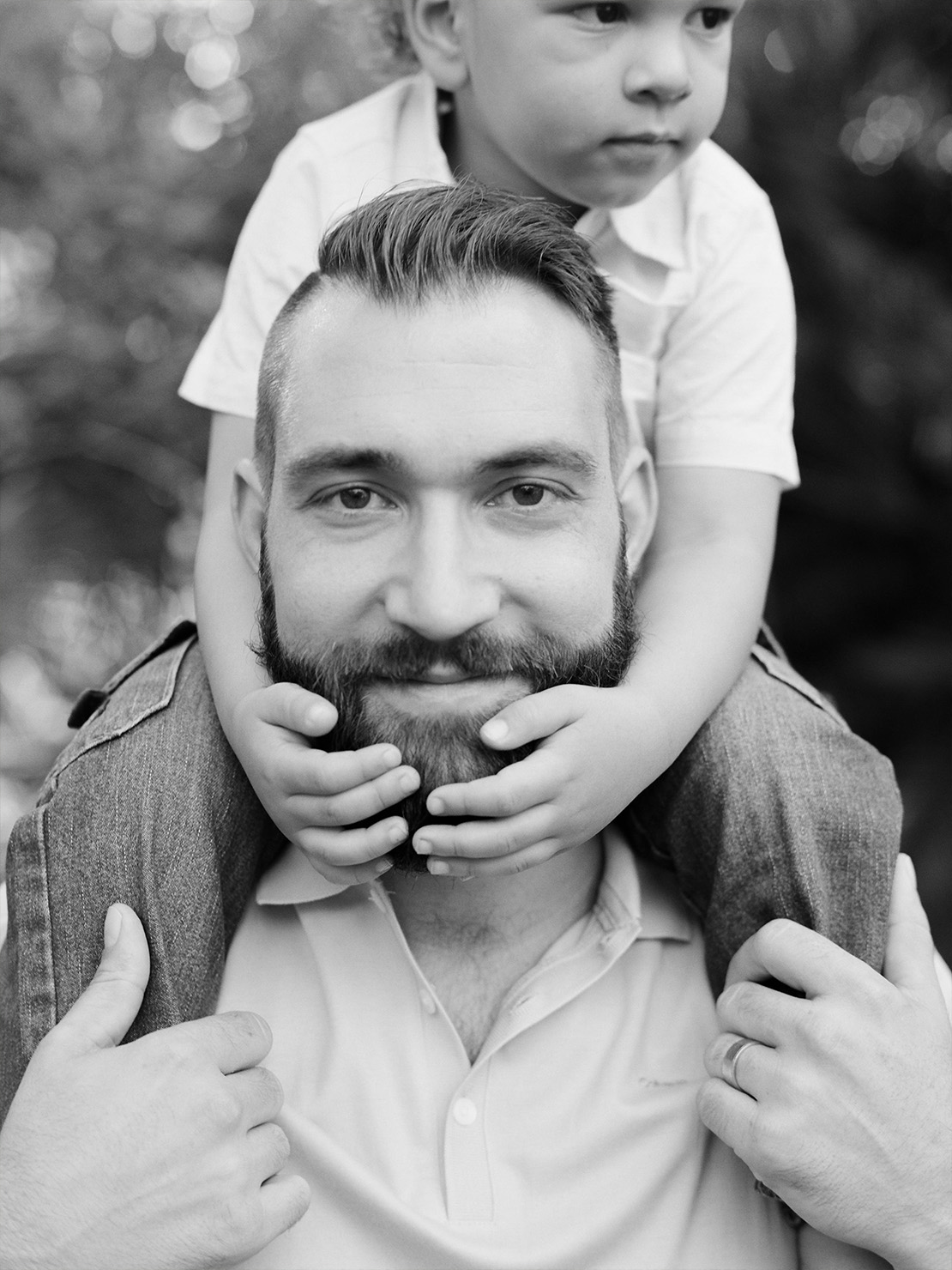 Heidi Vail Photography | Winter Park Florida Family Portrait Session at Mead Botanical Garden | Fine Art Family Photographer | Based in Orlando, Florida | Fatherhood