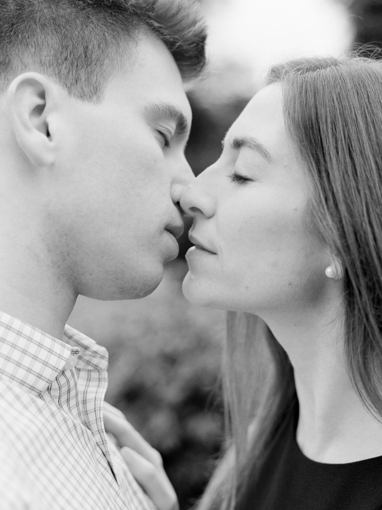 Fine Art Wedding Photographer Heidi Vail | Boston Public Garden Fall Engagement Session