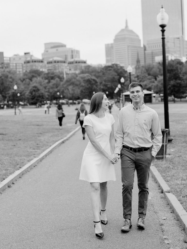 Boston Common Engagement Session with Heidi Vail Photography | Destination Wedding Photographer