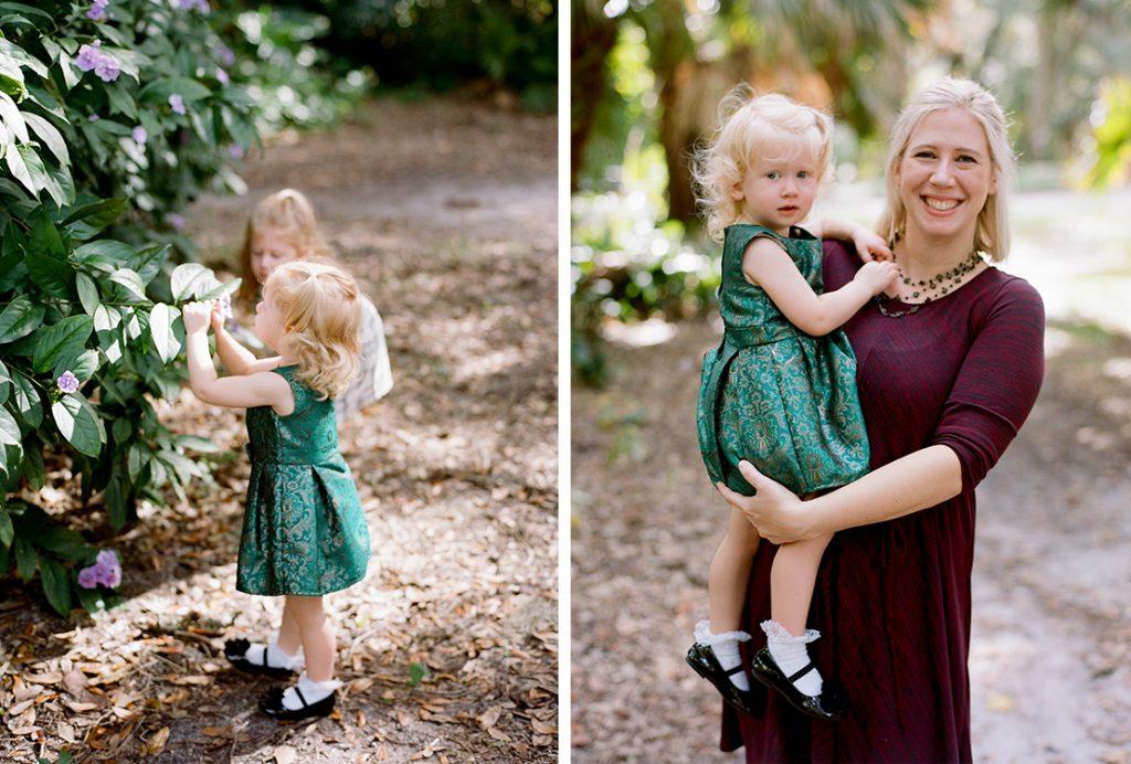 Heidi Vail Photography, Florida Film Photographer, Central Florida Family Photography, Dickson Azalea Park, Orlando, Florida, Holiday Mini Session