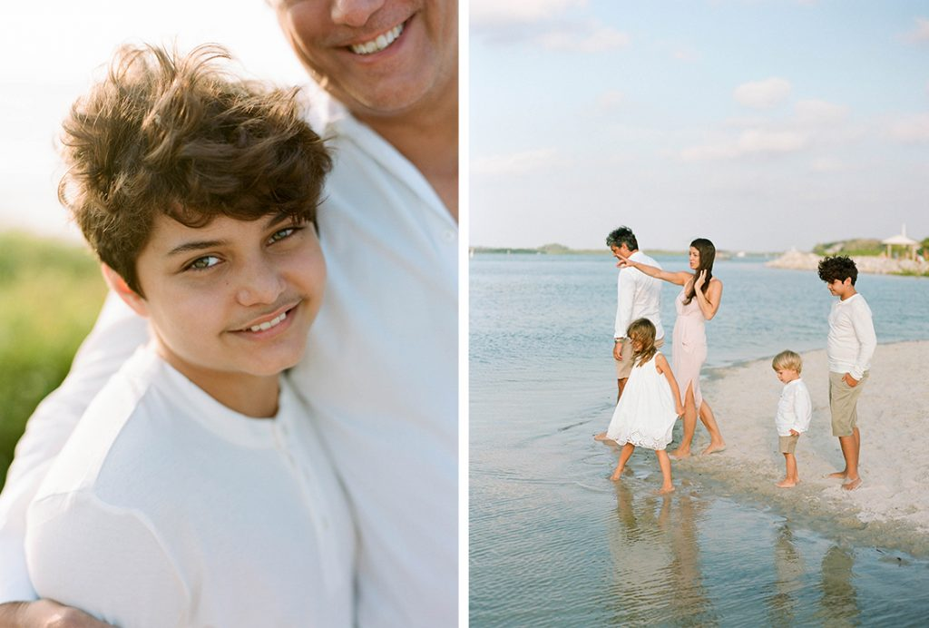 Heidi Vail Photography, Beachy Family Portraits at Lighthouse Point Park, Ponce Inlet, Florida