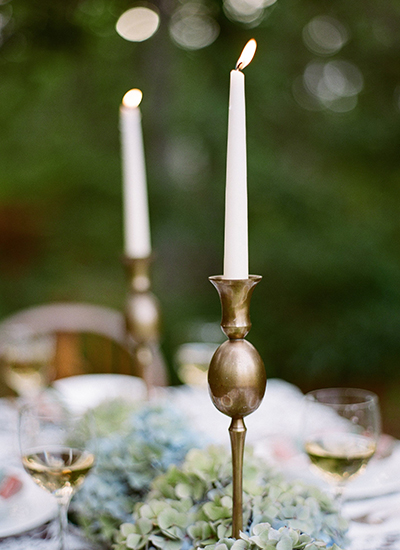 Orlando Florida Fine Art Wedding Photographer Heidi Vail Hydrangea Tablescape