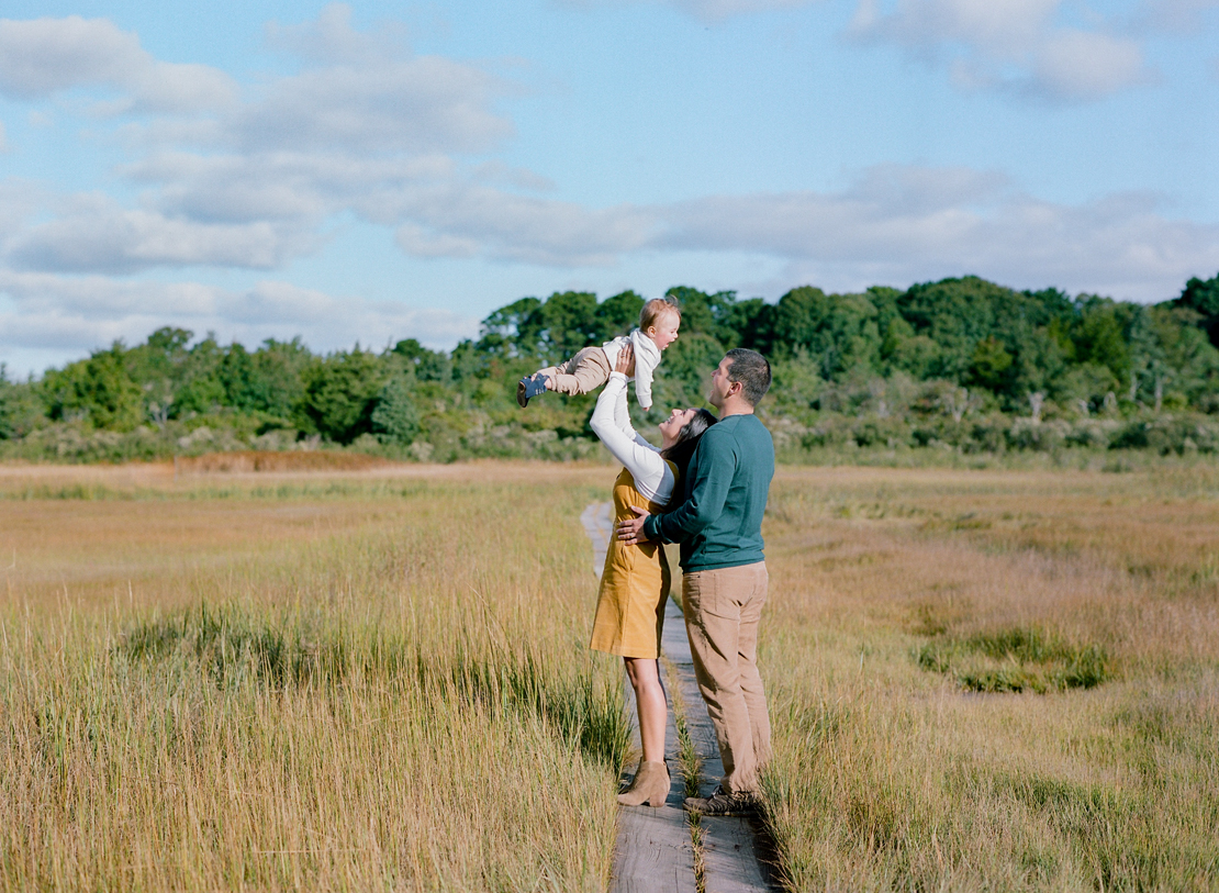 Cape Cod Family Photographer Heidi Vail at Wing Island, Brewster, Massachusetts